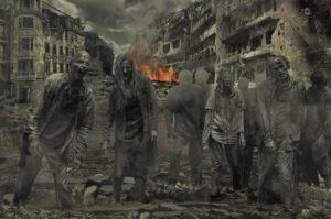 Коимпания зомби хоррор квест Enigma Room